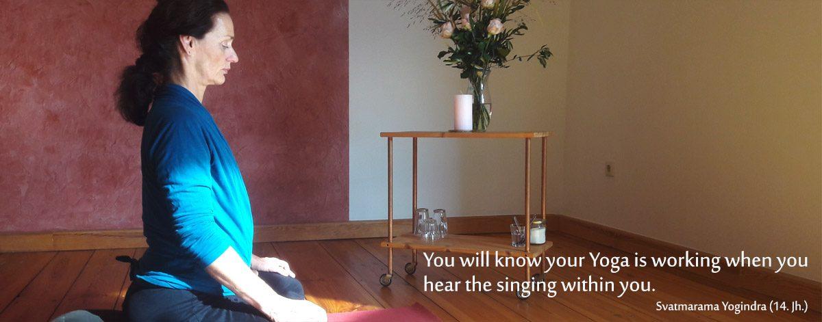 Katrin Sohnrey - Praxis für die Seele - Yoga-Angebote